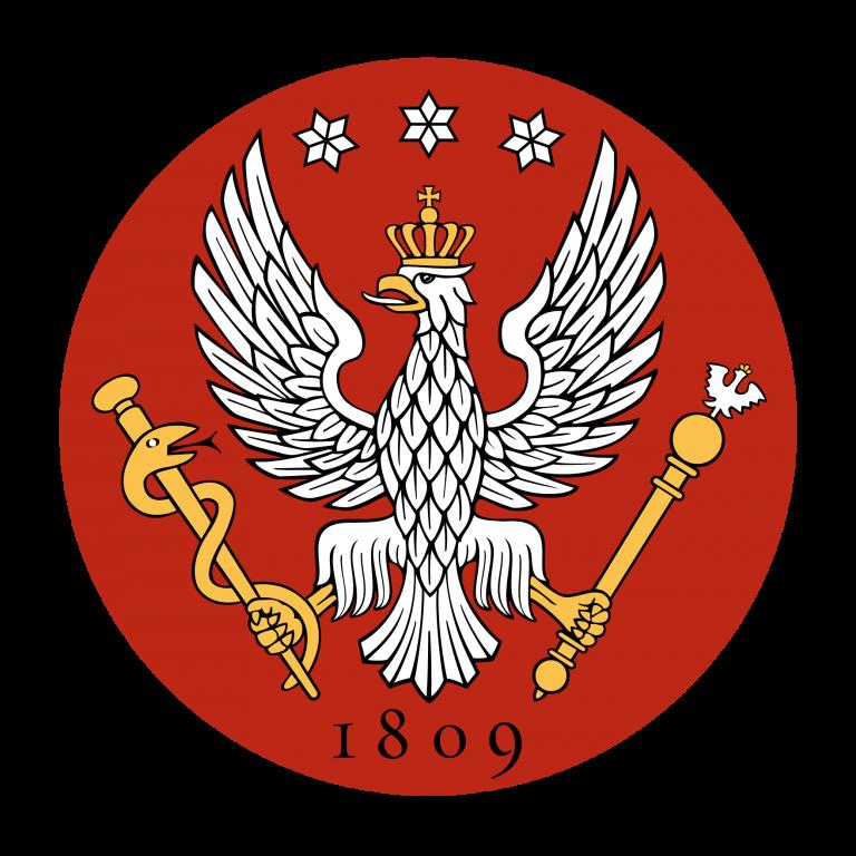 logo uniwersytetu medycznego